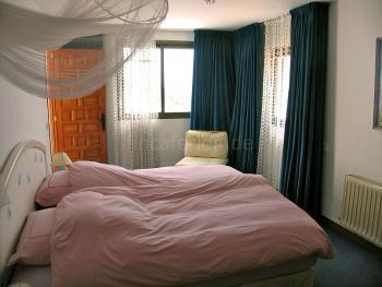 Schlafzimmer - große Ferienwohnung