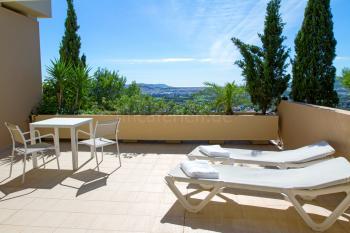 Apartment mit Blick auf Ibiza-Stadt
