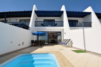 Ferienhaus am Meer mit Pool und Klimaanlage