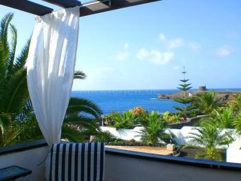 Ferienwohnung mit Meerblick