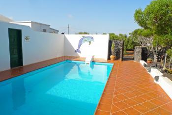 Ferienhaus für 4 Personen mit Pool