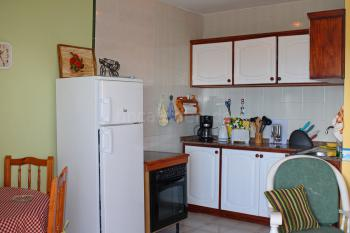 Integrierte Küche und Essplatz