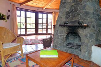 Ferienhaus mit Kamin und Internet