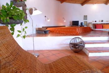 Gemütliches Loungebett
