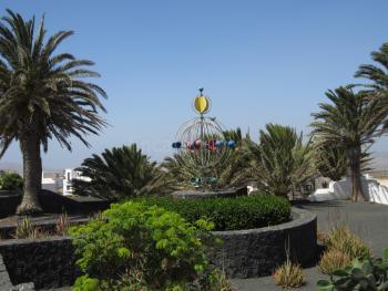 Lanzarote-Ferienhaus mit Garten