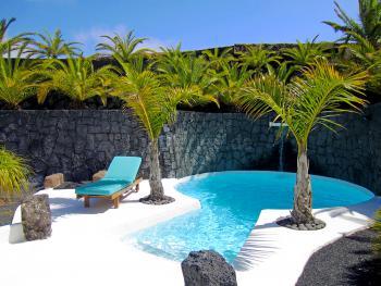 Pool vom Ferienhaus Lanzarote