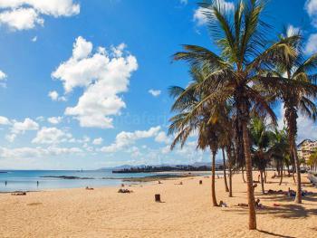 Strand in Arrecife