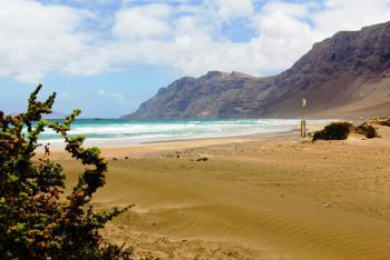 Playa de Famara - Lanzarote Urlaub