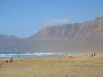Strandnahe Ferienwohnung in Caleta de Famara