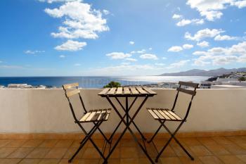 Strandurlaub Lanzarote - Studio mit Meerblick