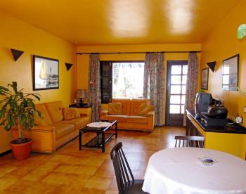 Wohnzimmer Apartment Pica