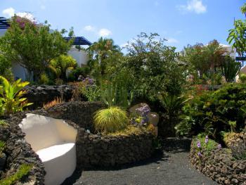 Apartment Lanzarote Garten