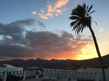 Urlaubsfeeling - Sonnenuntergänge auf Lanzarote