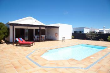 Ferienhaus mit Pool auf Lanzarote