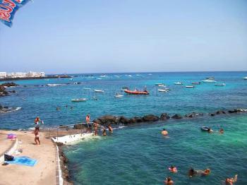 Naturschwimmbecken in Punta Mujeres