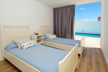 2 Schlafzimmer mit Ausgang zur Terrasse