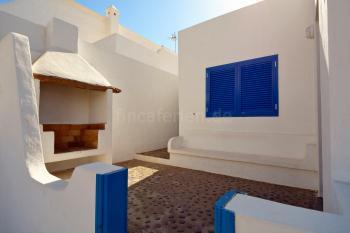 Ferienhaus mit Terrasse mit Grill