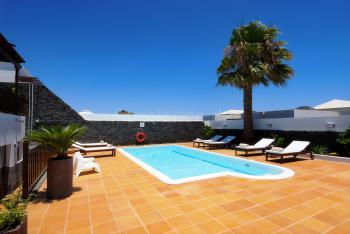 Moderne Villa für 8 Personen in Playa Blanca