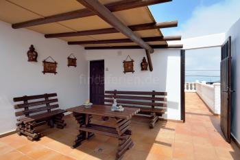 Überdachte Terrasse - oben