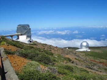 Observatorium am Roque de los Muchachos