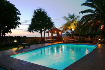 Turm-Apartment mit Pool bei La Laguna