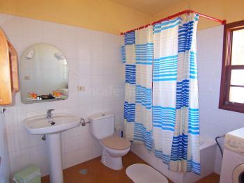 Badezimmer im Turm-Apartment