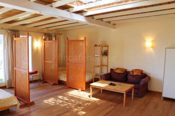 Wohn- und Schlafbereich vom Studio