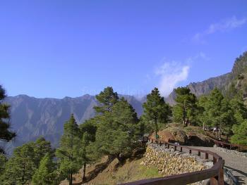 Herrliche Wandergebiete auf La Palma