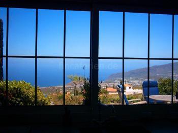 Meerblick aus dem Wohnzimmer