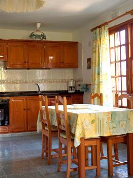 Küche im Apartment 1