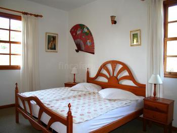 Schlafzimmer im Apartment 2