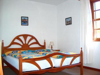 Schlafzimmer im Apartment 1