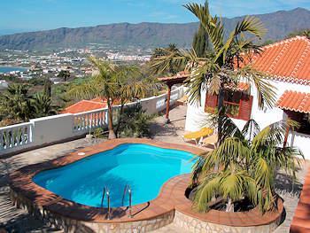 Ferienhäuser auf La Palma mit Meerblick