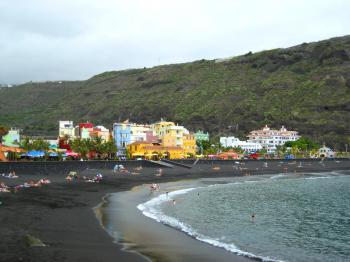 Der Strand von Puerto Tazacorte