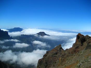 La Palma über den Wolken