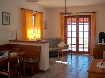 Wohnraum im Ferienhaus 2