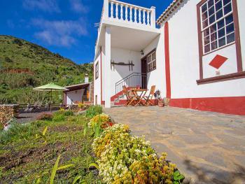 Ferienhaus La Palma - Terrasse