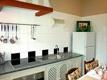 Offene Küche - komplett ausgestattet