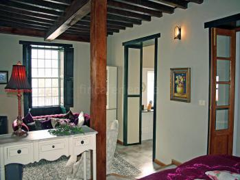 Wohn- und Schlafbereich mit Zentralheizung