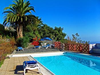 Landhaus auf La Palma mit Pool