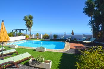 Ferienhaus mit Pool bei Barlovento