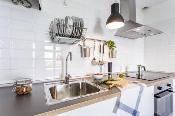 Moderne Küchenzeile