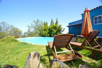 La Palma Finca mit Pool und Meerblick