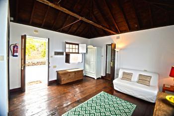 Eingangsbereich im heutigen Schlafzimmer