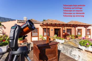 Teleskop auf Anfrage