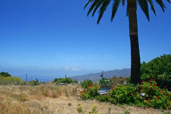 Garten und Panoramablick
