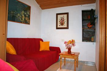 Wohnzimmer der kleinen Finca