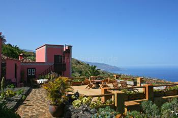 Kanarisches Ferienhaus mit Meerblick