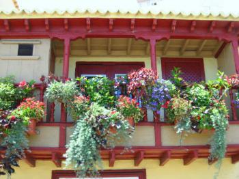 Balkon in Santa Cruz