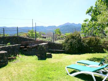Panoramablick und Ruhe genießen